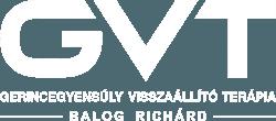 Balog Richárd GVT-terapeuta, csontkovács